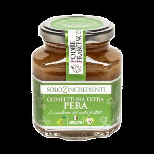 Confettura Extra Pera Vasetto Prodotti Podere Francesco Abruzzo