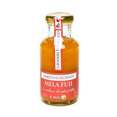 Succo di Frutta Senza Zuccheri Mela Fuji Prodotti Podere Francesco Abruzzo
