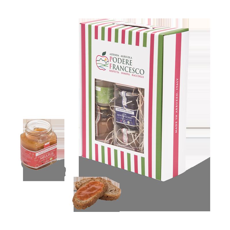 Box Poderina Idea Regalo Frutta Prodotti Podere Francesco Abruzzo