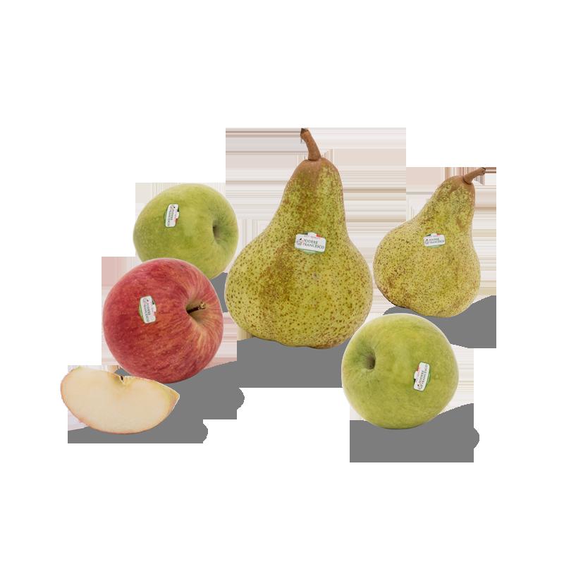 Frutta fresca di stagione prodotti Podere Francesco Abruzzo